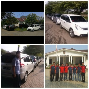 Andi Rent Car Mobil dan Team