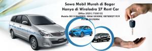 Rental Mobil Lepas Kunci Bogor
