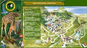 Peta Wisata Taman Safari