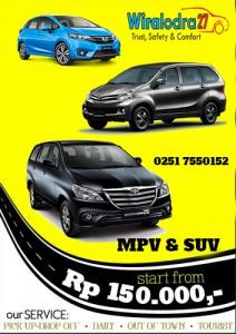 Sewa Mobil Murah Bogor Wiralodra 27 Rent Car Hanya 150ribu